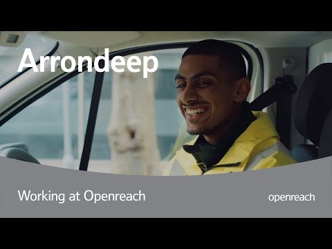 Trainee engineer at Openreach