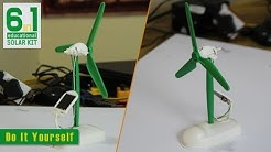 Solar Windmill | Emob DIY 6 in 1 Hybrid Models Solar Robot Educational Kit for Kids