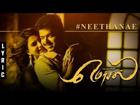 Mersal - Neethanae Tamil Lyric Breakdown   Vijay   Samantha   A R Rahman   TK 322