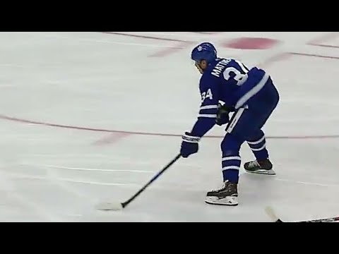 Gotta See It: Matthews scores hat trick against Canadiens in pre-season tilt