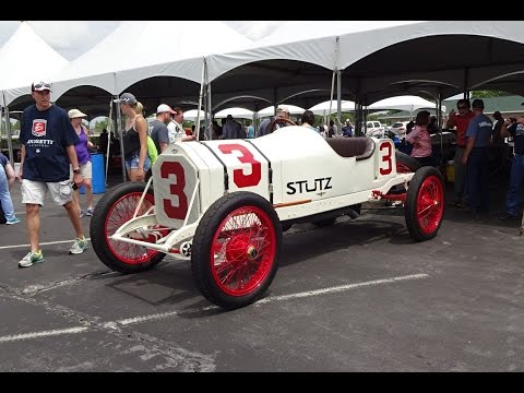 Start Up a 100+ Year Old Indy 500 Racecar 1914 Stutz # 3? Why Not! - My Car Story with Lou Costabile