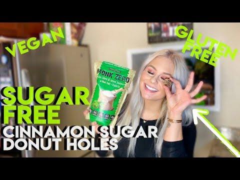 sugar-free-cinnamon-sugar-donut-hole-recipes-|-5-minute-healthy-dessert