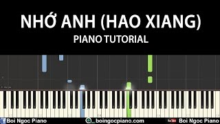 Nhớ Lắm (Hao Xiang) (Triệu Vy) - Easy Piano Tutorial #75