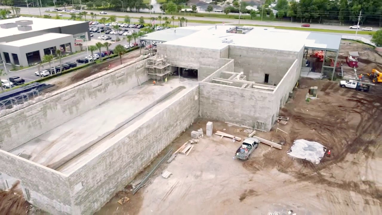 Porsche Jacksonville: Our New Facility Construction Update