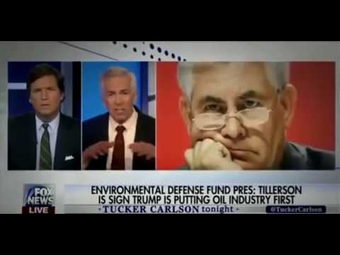 Tucker Carlson Humiliates Environmental Defense Fund President For Stonewalling