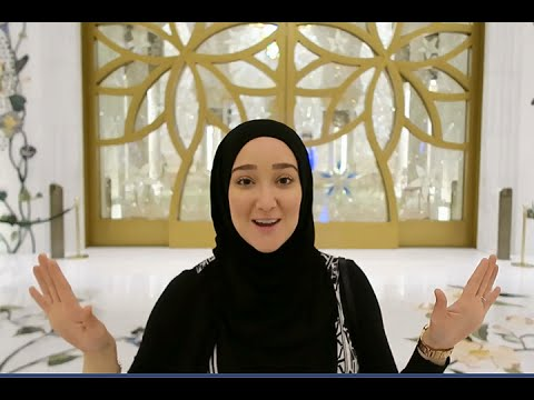 Yaz in Sheikh Zayed Mosque in Abu Dhabi