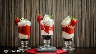 Deser z truskawkami, mascarpone i oreo   Ugotowani.tv HD