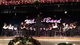 Standard of Excellence Medley #1. South Miami Middle School Concert, Beginning Band. Dec 2018