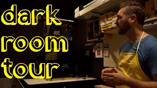 A Tour Of My Darkroom
