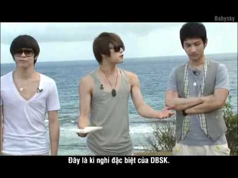 [Vietsub] DBSK - Saipan 1