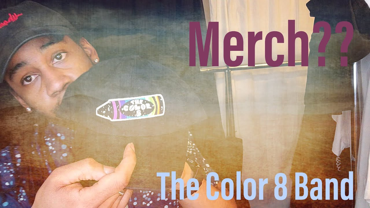 The Color 8 Band Merch Haul