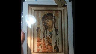 Вышивка крестиком: Thea Gouverneug Богоматерь Одигитрия. Обзор набора с предисловием)