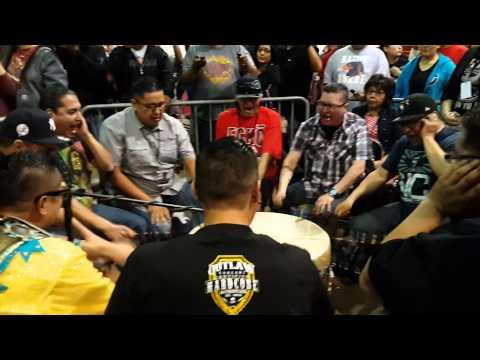 Northern Cree @ San Juan College Powwow 2015