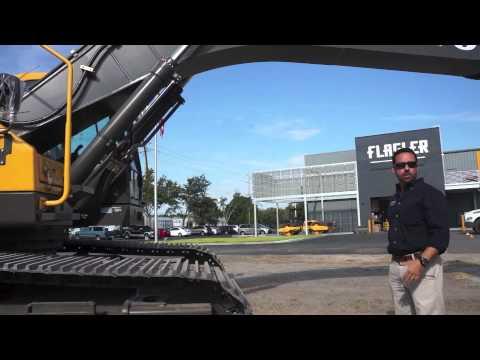 Volvo 380 excavator