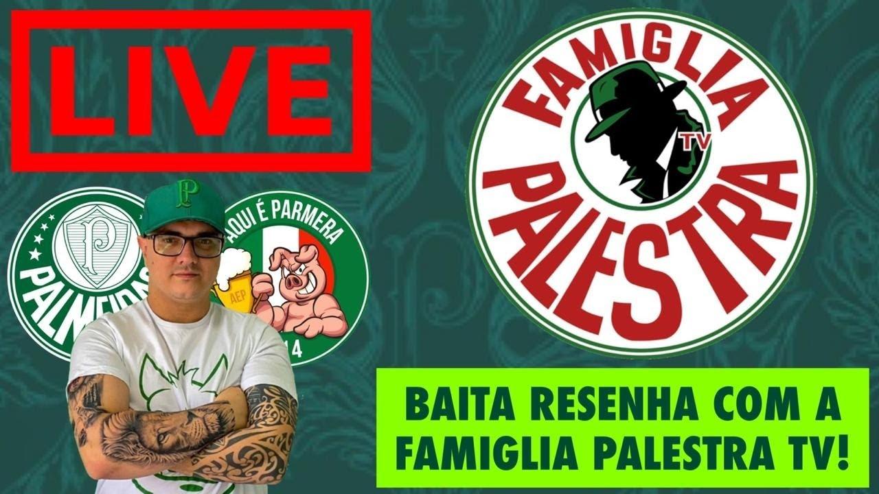 🔴 LIVE COM FAMIGLIA PALESTRA TV | NOTÍCIAS DO PALMEIRAS, ATUALIZAÇÃO DOS CASOS DUDU E R.GUEDES E +