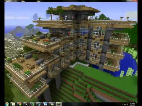 Top 5 minecraft creaciones casas youtube for Casa y jardin tienda madrid