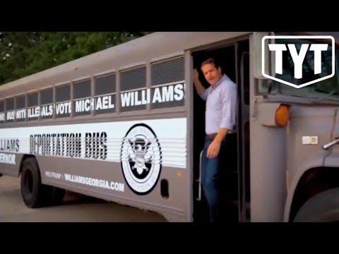 Deplorable Republican Creates Deportation Bus