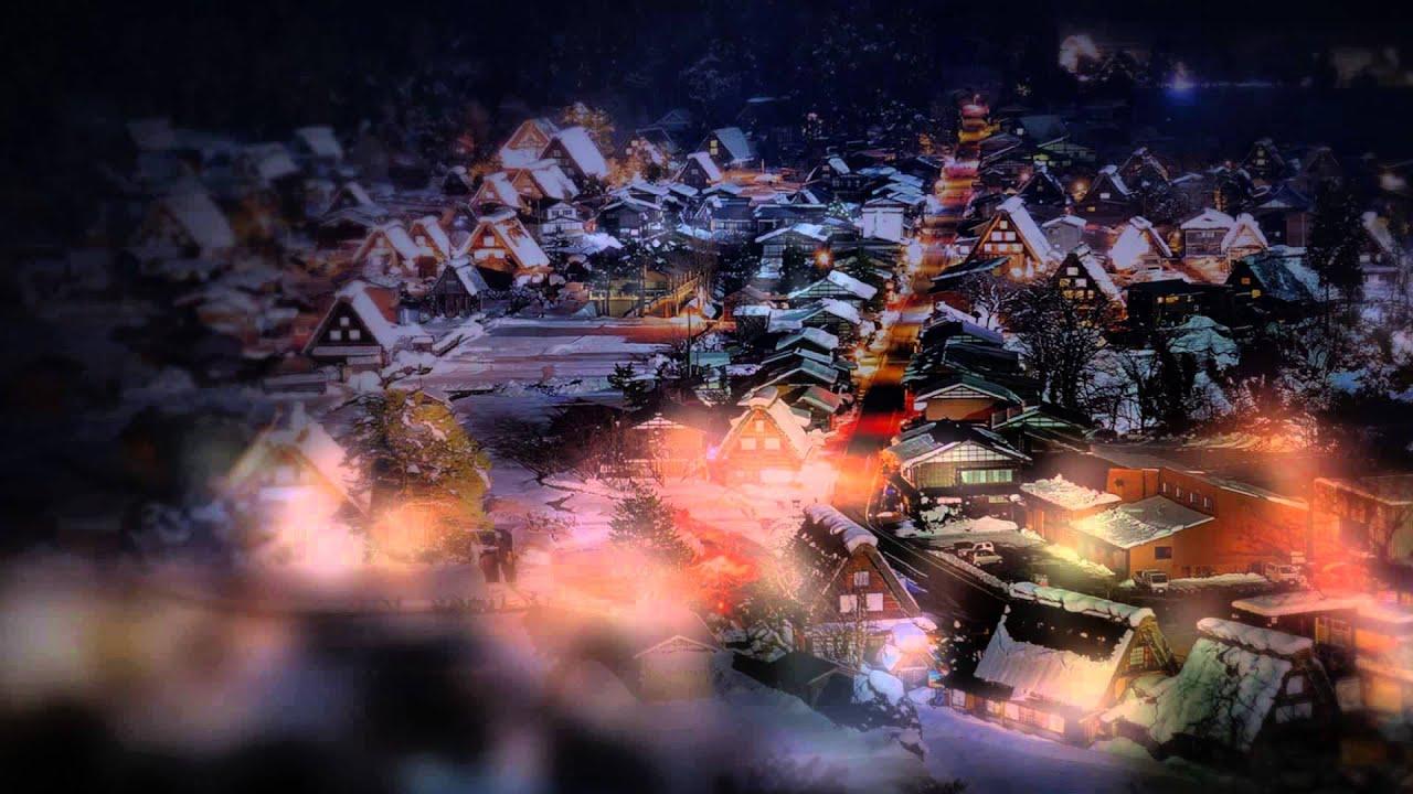 白川鄉點燈Light Up|日本北陸合掌村雪翩舞 - YouTube
