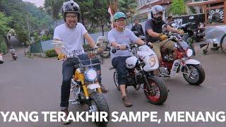 MotoVLog - Riding Motor Mini dan Review Honda Monkey Ori
