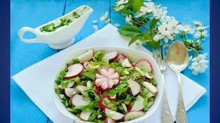 Очень вкусный салат на скорую руку