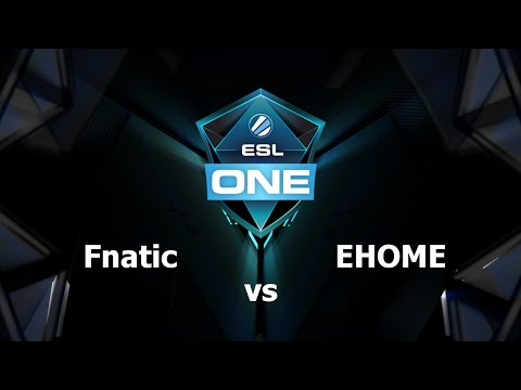 Fnatic vs EHOME Game 1 - ESL One Manila - @GBCasts @MotPax
