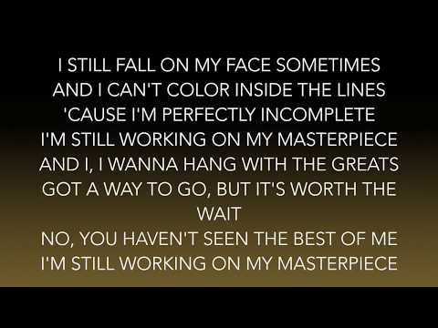 Jessie J - Masterpiece (Lyrics)