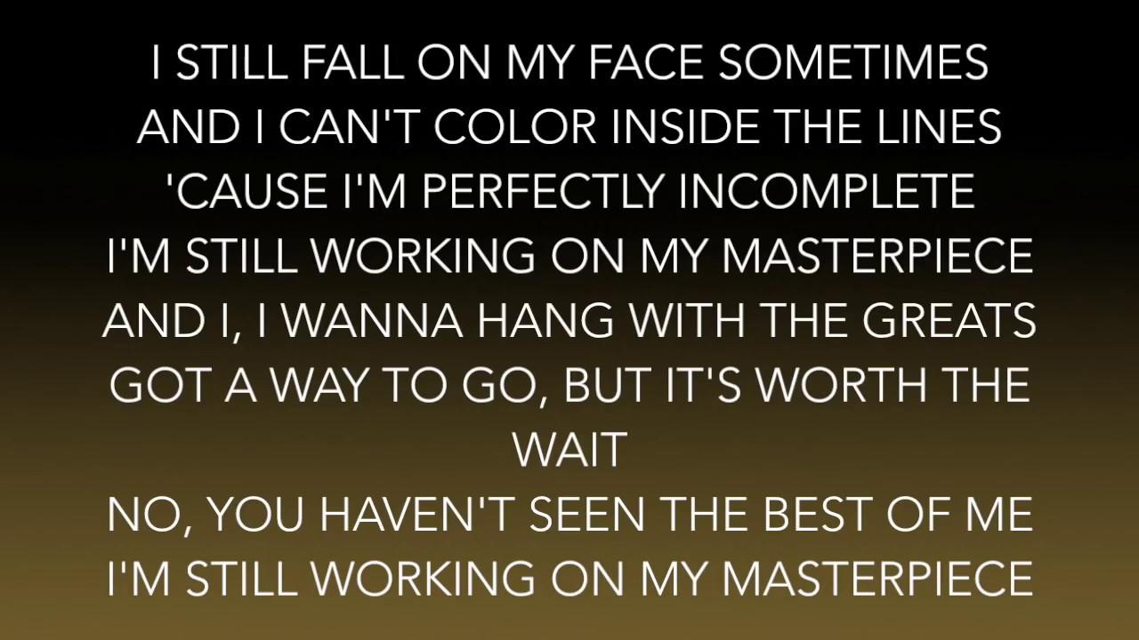 Jessie J - Masterpiece (Lyrics)