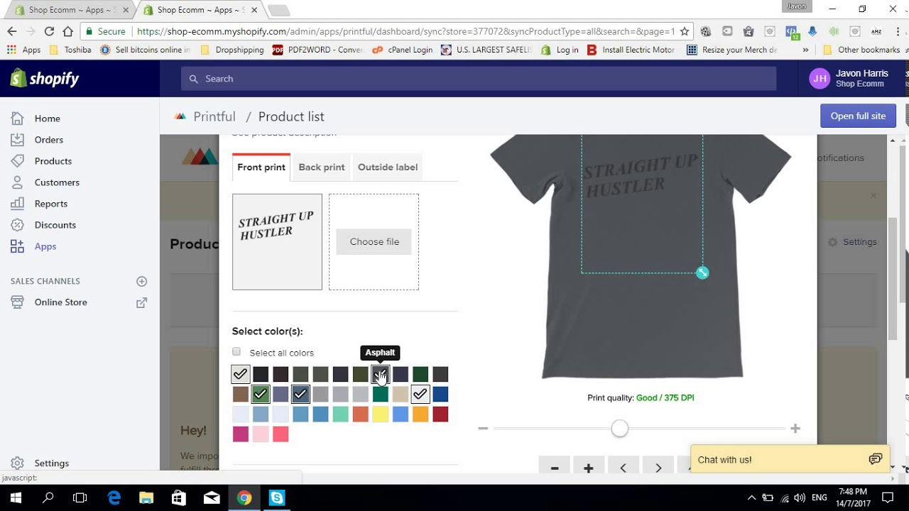 How To Use Printful To Start A Free Shopify Print On Demand