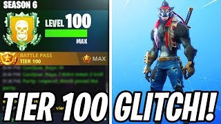 "NEW TIER 100 GLITCHI! -Tier 100 5 PER MINUTE! -""Fortnite Suomi"""