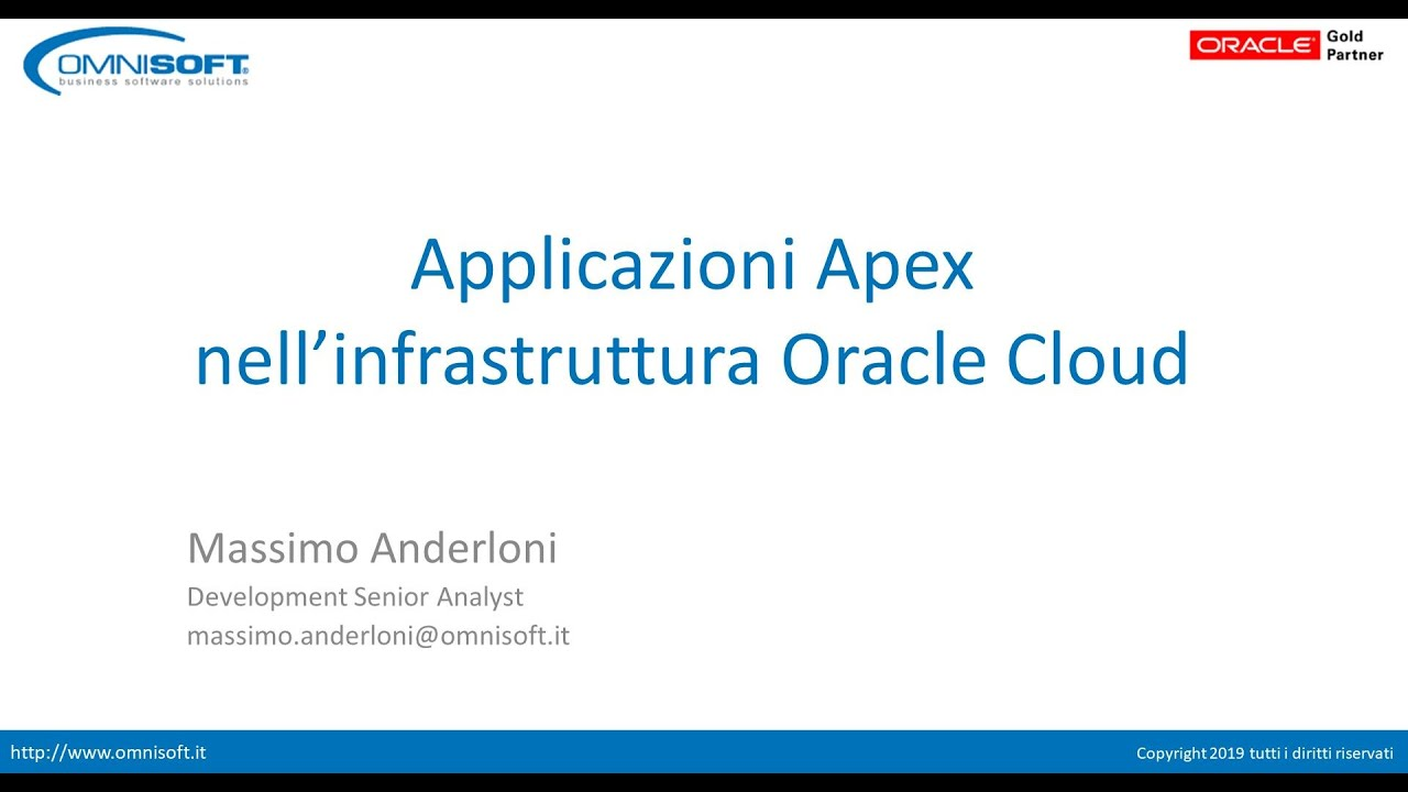Oracle Apex – Business Software Solution