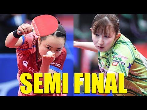 Download Mima Ito vs Hina Hayata | 2021 ALL Japan Championships (1/2)