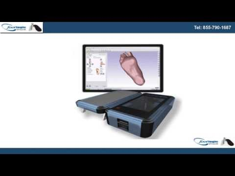 Custom Fitted Orthotics Uses Advanced 3-Dimensional Laser Te