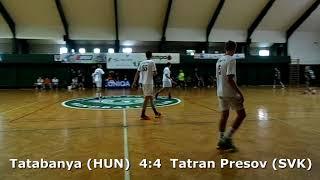 Handball. U17 boys. Sarius cup 2017. Tatabanya KC (HUN) - Tatran Presov (SVK) - 6:6 (1st half)