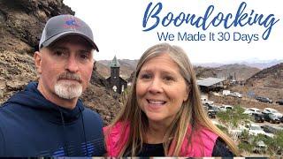 Boondocking in Arizona - Harvest Host -  Full Time RV