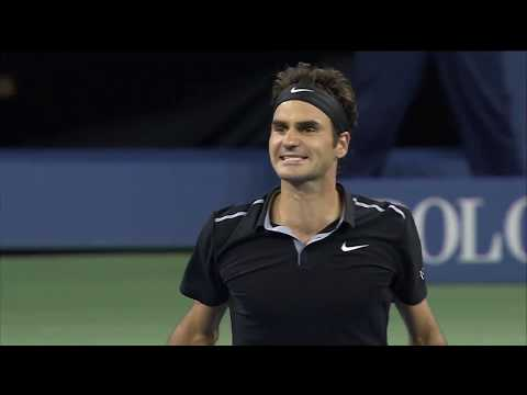 US Open On This Day: Roger Federer Rallies to Beat Gael Monfils