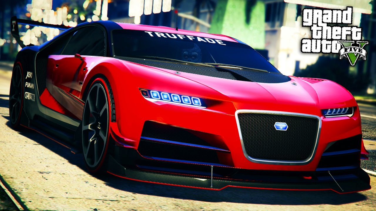 GTA Online: Fully Upgraded NERO CUSTOM Super Car Showcase ...
