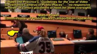 """CITY OF MISSISSAUGA CORPORATE SECURITY: """"SHINING A LIGHT"""" ON VIOLATIONS (VIDEO SURVEILLANCE )"""
