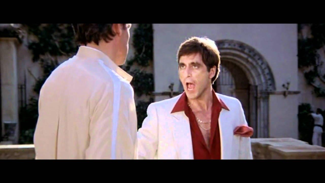 Frase De Al Pacino En Scarface El Precio Del Poder