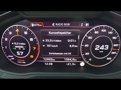 2017 Audi Q5 2.0 TFSI quattro 252hp - 0-100 km/h kph Tachovideo, Beschleunigung, Acceleration