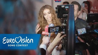 Tränen der Freude bei Eleni Foureira | Eurovision Song Contest | NDR