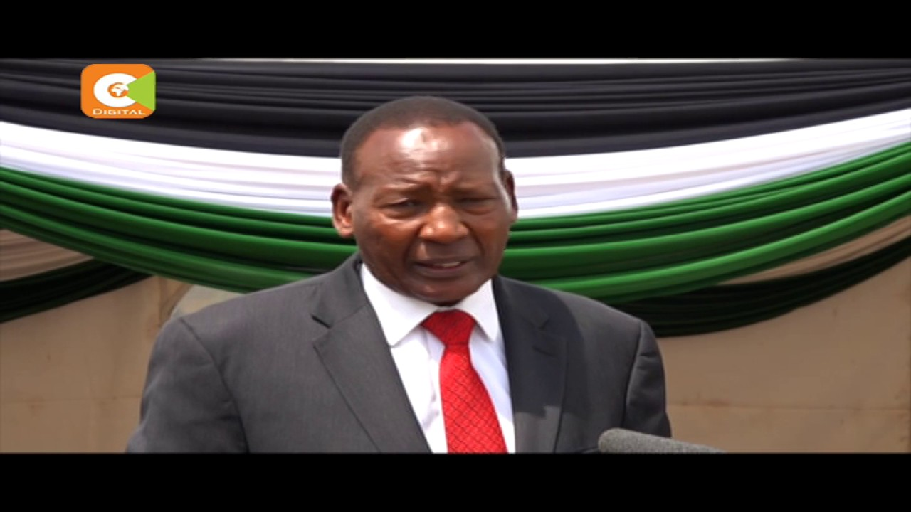 Nkaissery has urged residents of North Eastern Kenya to collaborate with security agencies