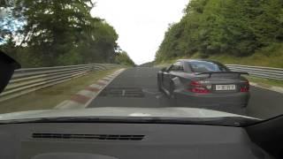 Megane RS + Mercedes AMG SL 65 blackseries - Nürburgring Nordschleife Touristenfahrten