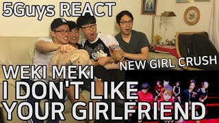 Video [FINDING BIASES] Weki Meki (위키미키) - I Don't Like Your Girlfriend (5Guys MV REACT) download MP3, 3GP, MP4, WEBM, AVI, FLV Januari 2018