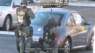 Deadly Officer Involved Shooting, SWAT Standoff, San Diego