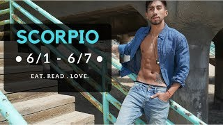 """SCORPIO SOULMATE """"THERE'S A CHANCE"""" JUNE 1 7 WEEKLY LOVE TAROT READING"""