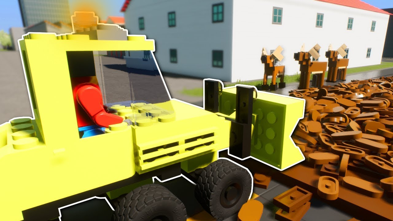 gross jobs in lego city brick rigs multiplayer gameplay. Black Bedroom Furniture Sets. Home Design Ideas