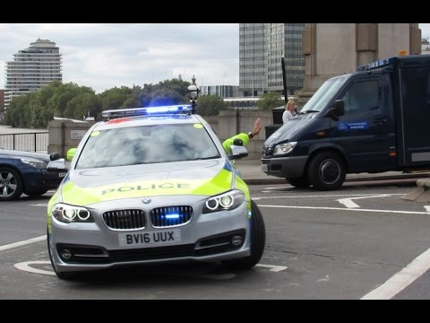 RARE - Metropolitan Police Special Escort Group Prisoner Transport Training Run