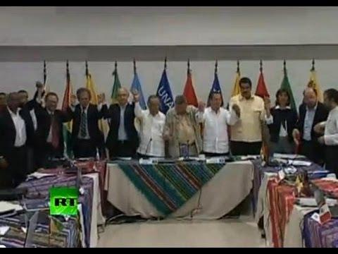 Южная Америка поддержала Ассанжа