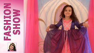 Fashion Show Part 1 - Princess Dresses