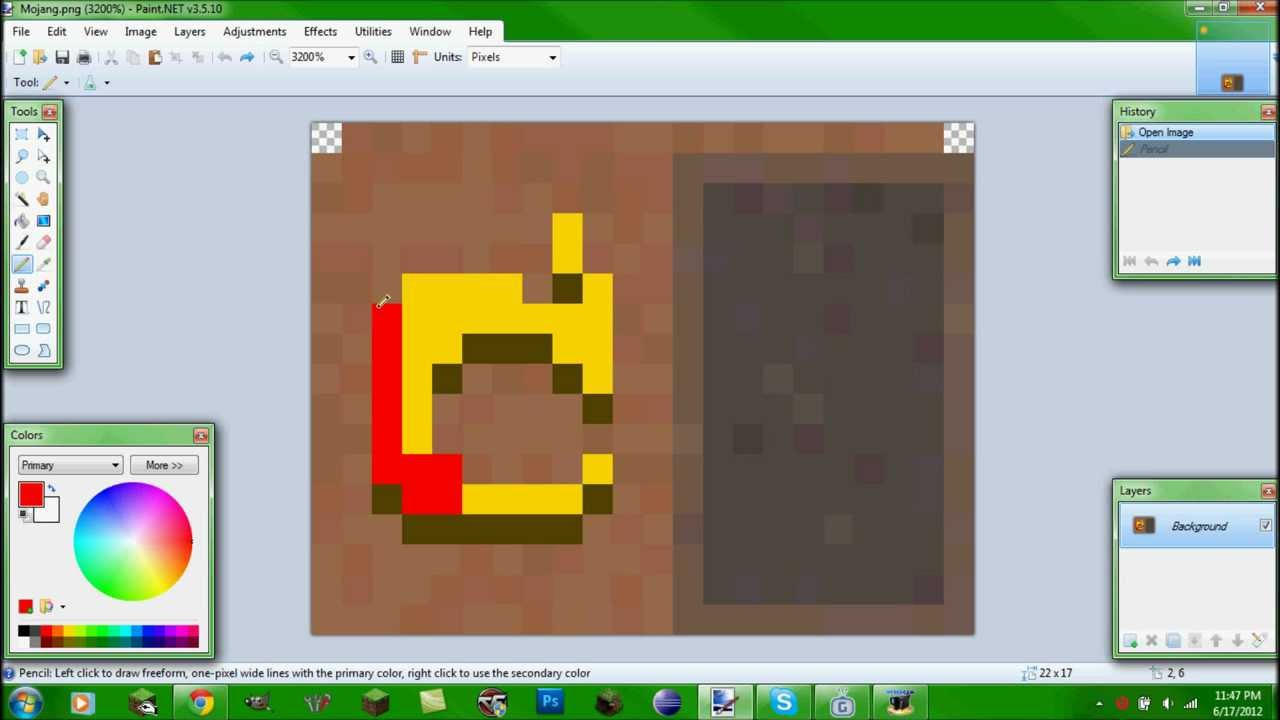 minecraft makeing mojang cape more epic speed art youtube
